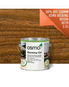 Osmo Decking Oil Teak 007 Clear