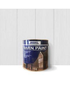 Bedec Barn Paint - Semi-Gloss - Light Grey - 2.5L