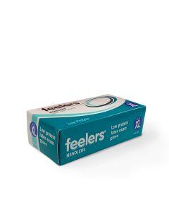 Feelers Handlers Latex Low Protein Gloves x100 - Medium
