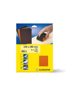 Klingspor PL 31 B 230 x 280mm Sandpaper Sheets x5