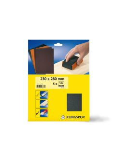 Klingspor PS 11 A 230 x 280mm Wet & Dry Paper x5