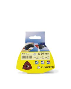 Klingspor PS 22 K ⌀ 96mm Triangle Discs (5 Discs)