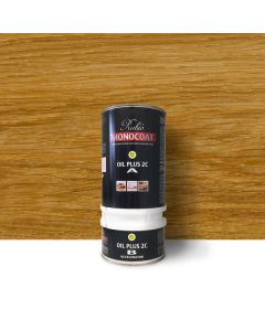 Rubio Monocoat - Oil Plus 2C (Part A+B) - Pure - 1.3L