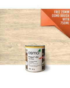 Osmo Polyx®-Oil Tints-Osmo 3040 White-750 ml