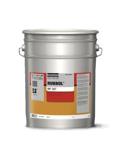 Sikkens Rubbol WF 387 Satin RAL 9016 Top Coat