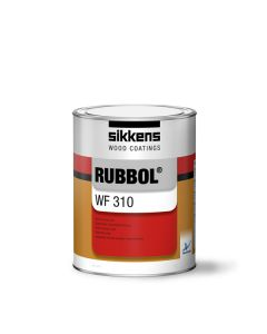 Sikkens RUBBOL WF 310 Brush Semi-Matt Opaque Topcoat