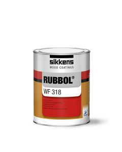 Sikkens RUBBOL WF 318 Brush Satin Opaque Topcoat
