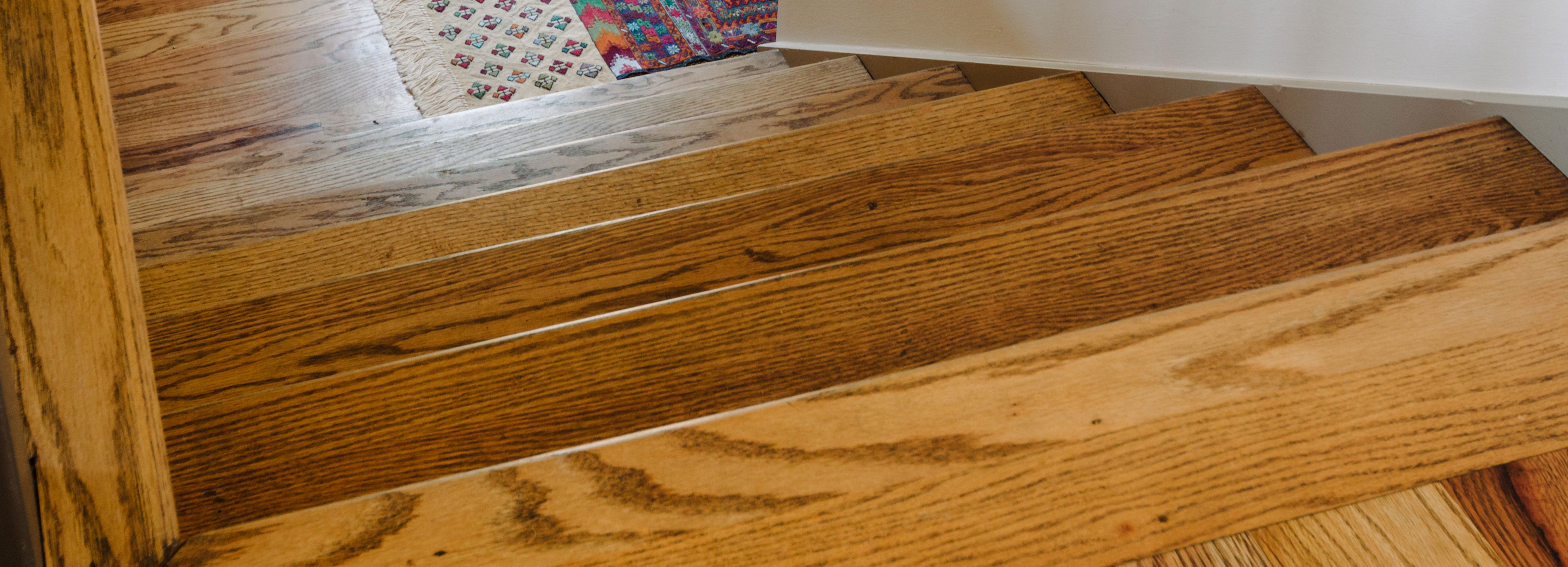 Wooden floor treated with Rubio Monocoat Oil Plus 2C Antique Bronze