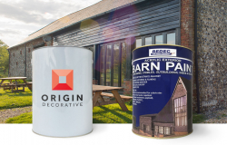 How to paint a wooden barn