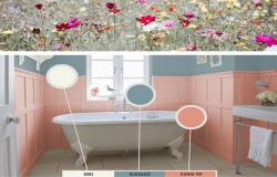 Calming Spring 2019 colour palette