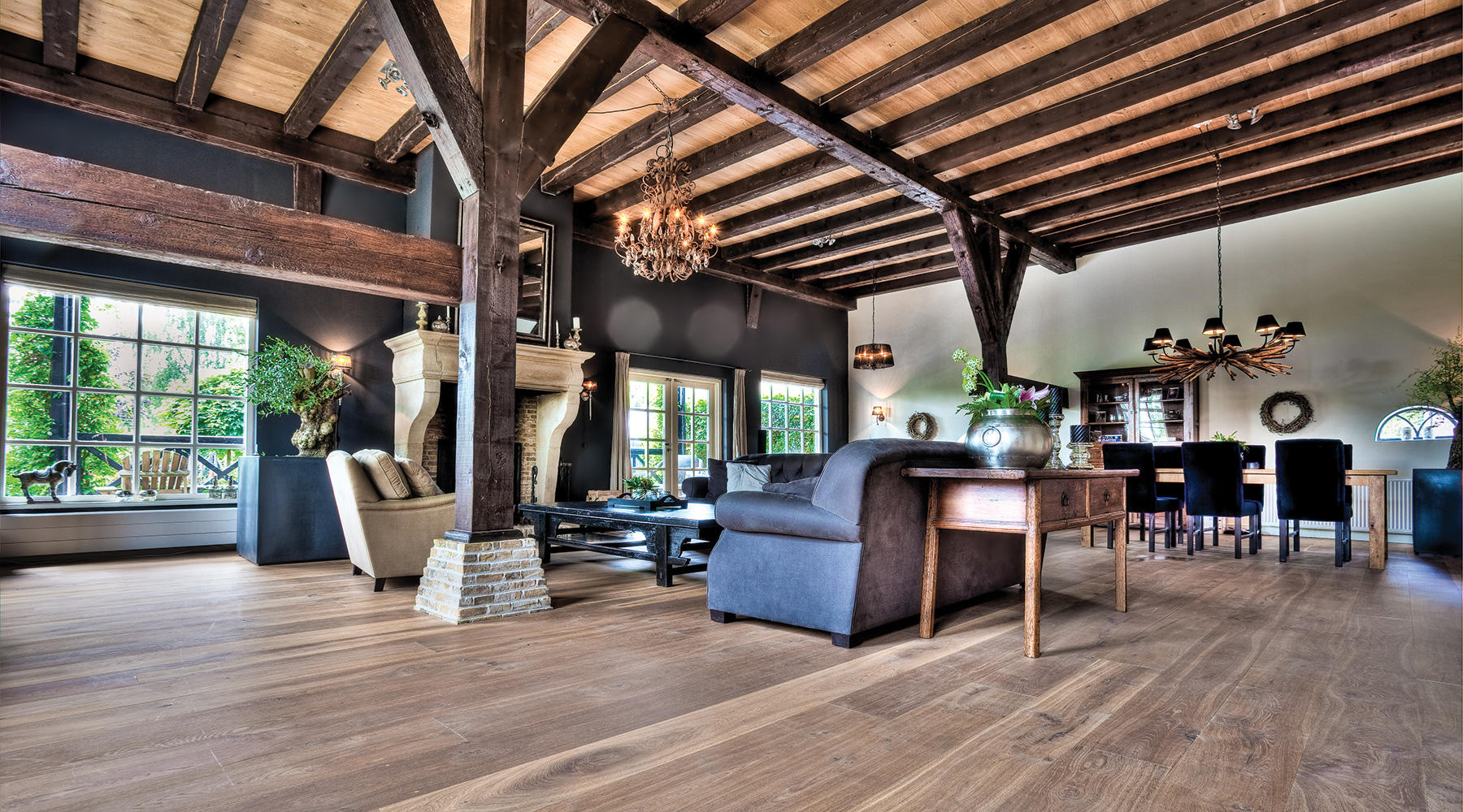 Interior Floors, Walls, and Beams