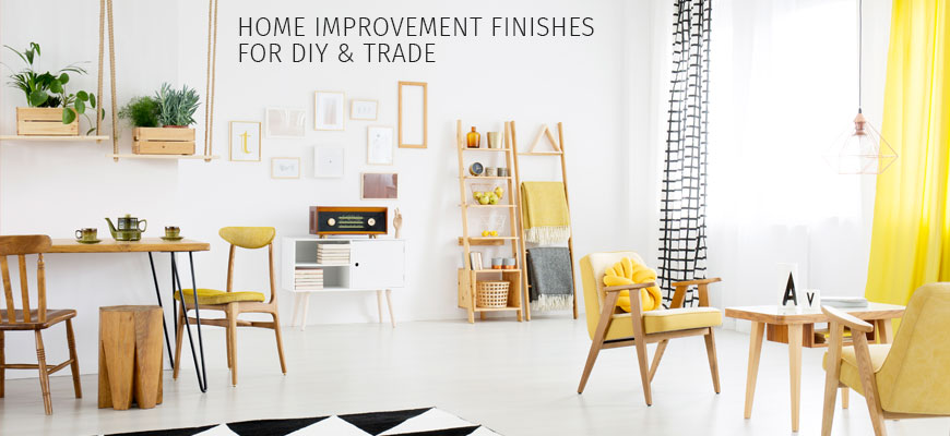 Home Improvement Finishes for DIY and Trade